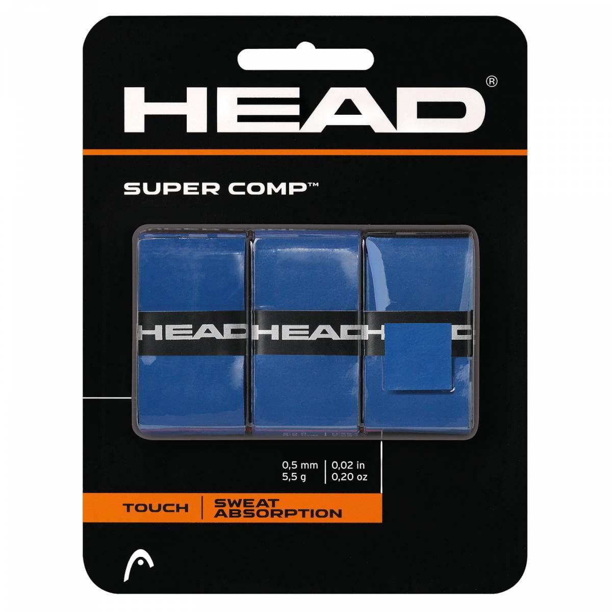Head Head Super Comp (3 szt.) - blue 285088-BL