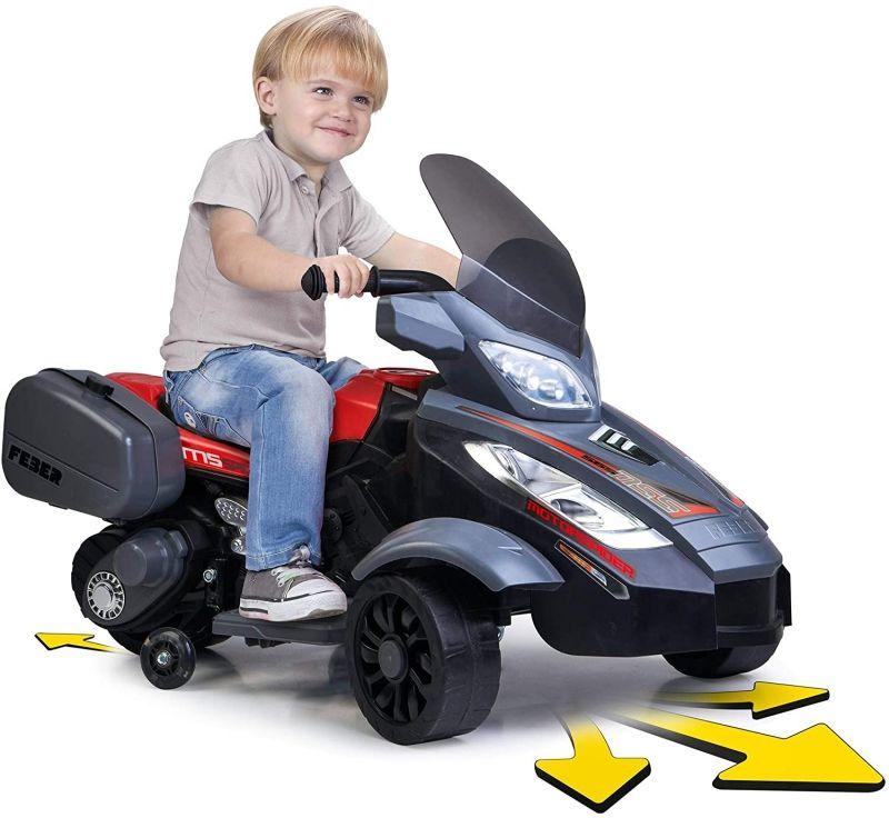 FEBER Motor Pojazd na Akumulator Wózek Motorek Elektryczny Trójkołowy 12V LK