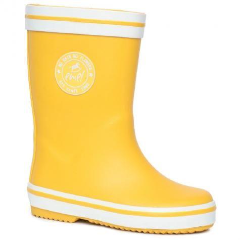 EMEL K-100 kalosze dla dzieci - gumiaki żółte
