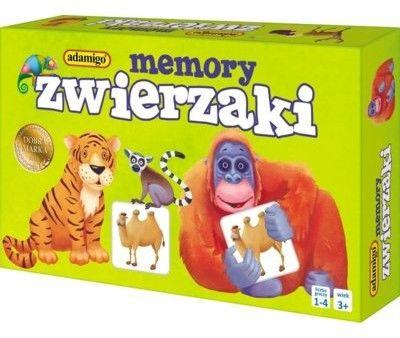 Memory Mini - Zwierzaki
