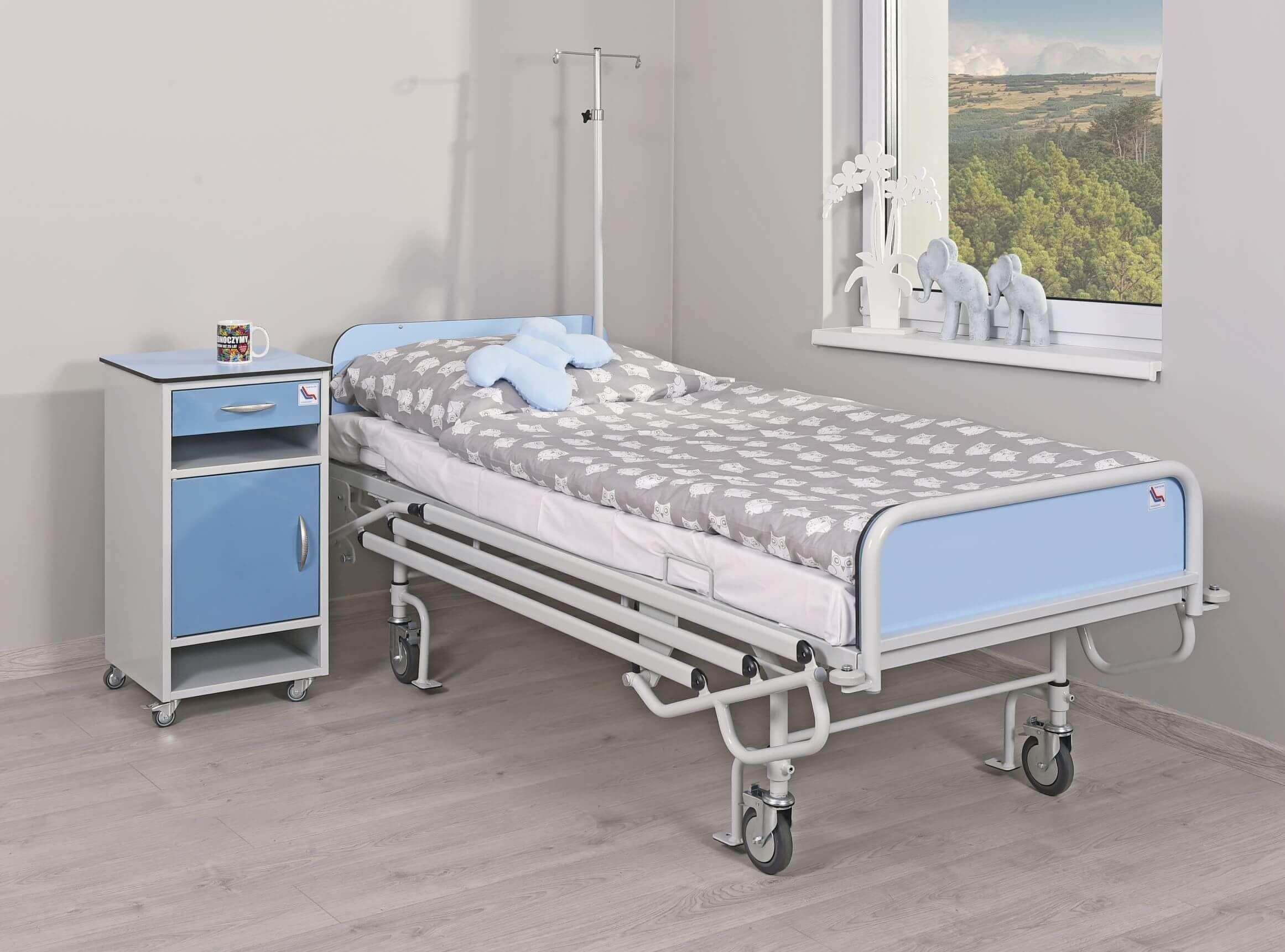 Łóżko rehabilitacyjne A-4 psychiatryczne