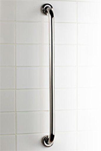 Uchwyt łazienkowy dla niepełnosprawnych prosta Bisk PRO  25 60 cm stal połysk