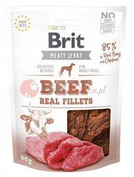 Brit Meaty Jerky Snack filet z wołowiny i kurczaka - Beef and Chicken Fillets