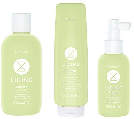 Liding Energy zestaw szampon 250ml + odżywka 200ml + lotion 100ml