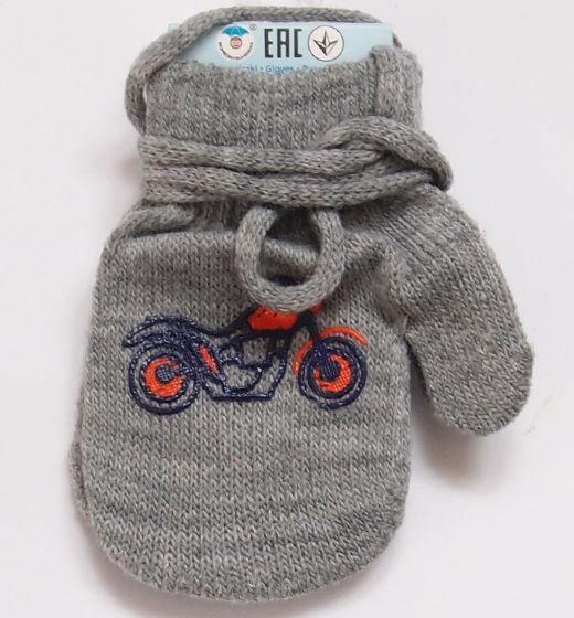 Rękawiczki dziecięce jednopalcowe z motorem