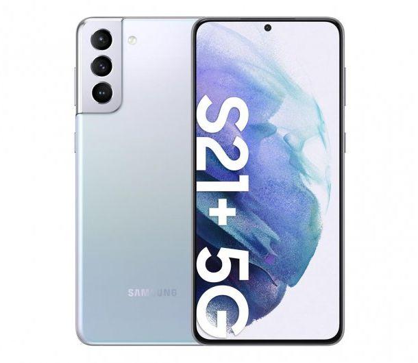 Samsung Galaxy S21+ 5G Srebrny/Silver SM-G996BZSDEUE