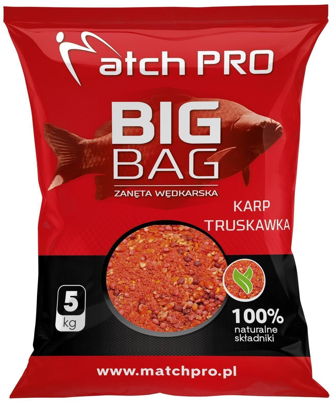 Zanęta Big Bag Karp Truskawka 5 KG