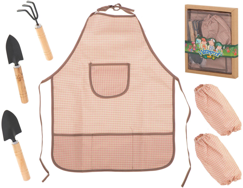 Narzędzia ogrodowe dziecięce łopatka grabie zestaw