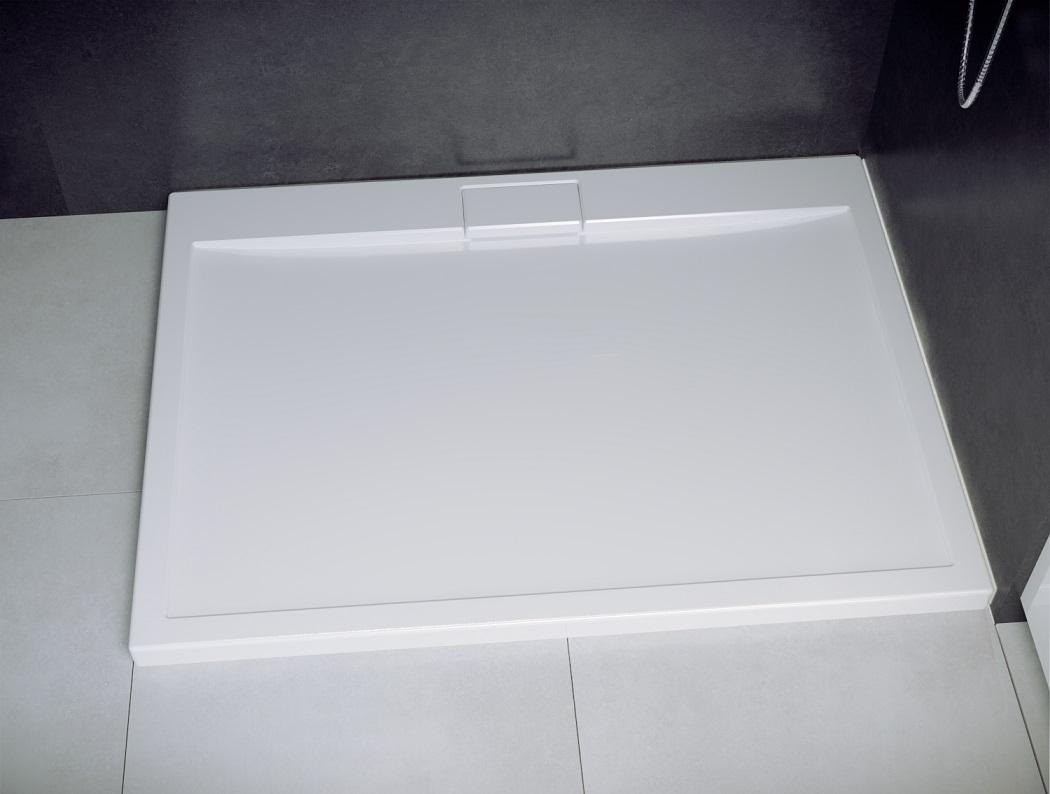 Besco Axim ultraslim 120x80 brodzik prostokątny biały BAX-120-80-P