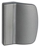 Uchwyt balkonowy z PCV srebrny