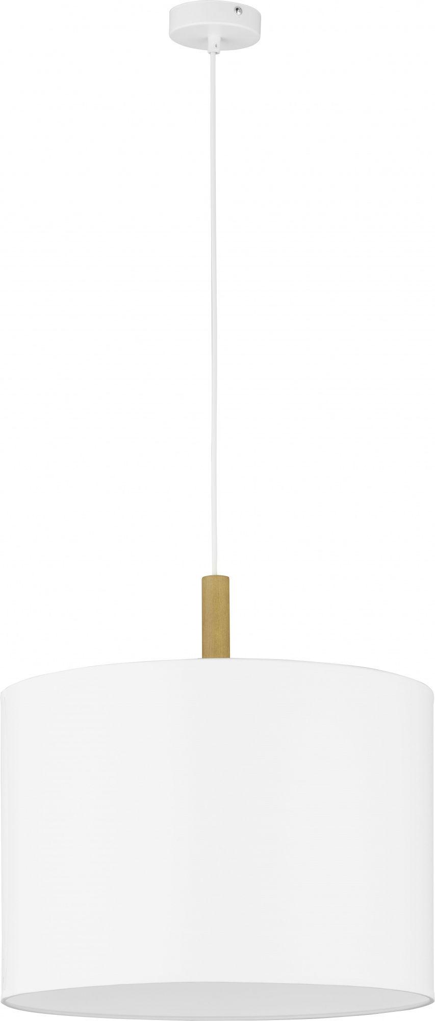 Lampa wisząca Deva 4107 TK Lighting nowoczesna oprawa w kolorze białym