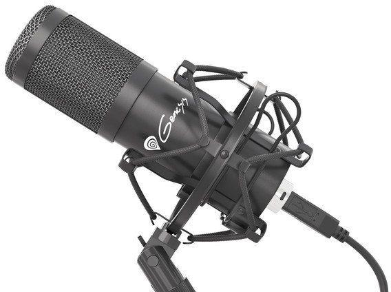 NATEC Mikrofon Genesis Radium 400 studyjny USB
