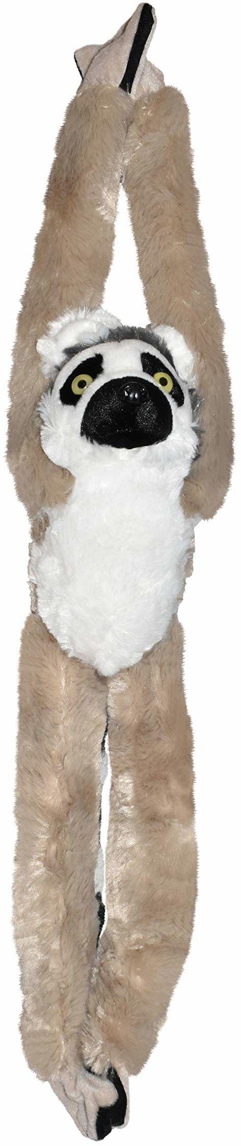Wild Republic 15261 - Hanging Monkey Katta Lemur pluszowa małpka, 51 cm