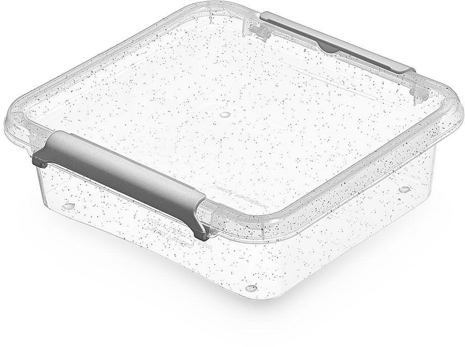 Mały Antybakteryjny Pojemnik na Drobiazgi Żywność Orplast NanoBox 0,6 L