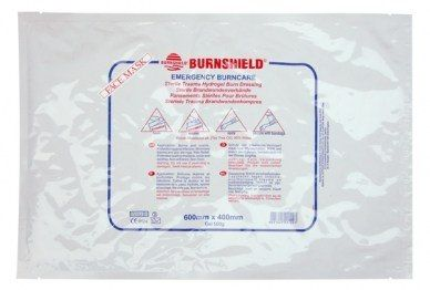 Opatrunek hydrożelowy 60x40 na twarz Burnshield