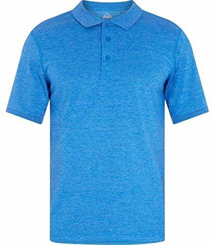 McKINLEY Pellew Polo, Melange/Blue Royal, L