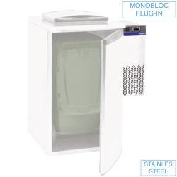 Agregat chłodniczy do chłodziarki na odpadki 260W 230V +2 C +8 C 285x545x(H)745mm