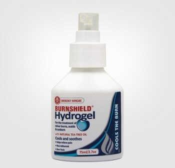 Opatrunek hydrożelowy w butelce 75 ml Burnshield