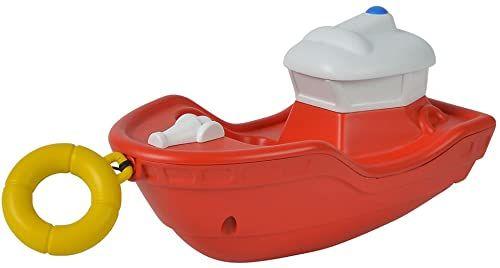 Simba 109252134  strażak Sam łódź holownicza Titan / ze sznurkiem do wciągania / 13 cm