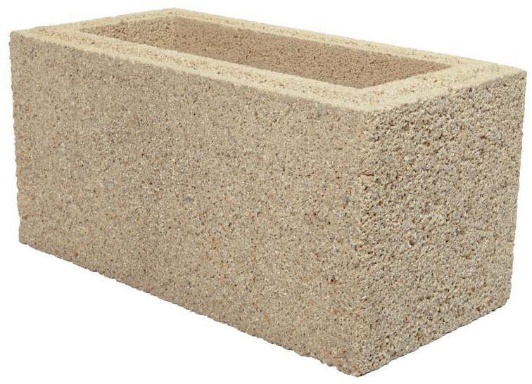 Bloczek murkowo-słupkowy 40.3 x 20 x 20 cm betonowy BESKID JONIEC