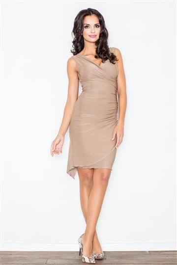 Sukienka Beatrice M053 Mocca