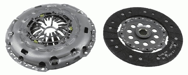 sprzęgło komplet Mondeo S-Max Focus ST - 2.5 VCT Turbo - Sachs