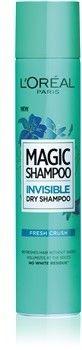 LOréal Paris Magic Shampoo Fresh Crush suchy szampon zwiększający objętość włosów, który nie pozostawia białych śladów 200 ml