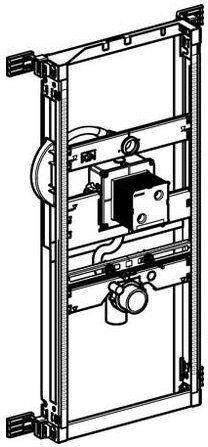 Kombifix Geberit element montażowy do pisuaru uniwersalny dla armatury ukrytej - 457.689.00.1