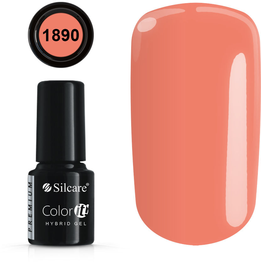 Color IT Premium Lakiery Hybrydowe - Pełna Paleta 2021 6 g