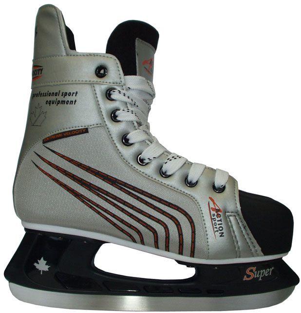 Łyżwy hokejowe - kategoria rekreacyjna, rozmiar 45