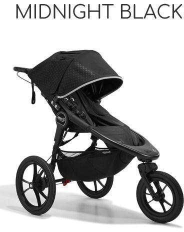 Baby Jogger Summit X3 (2021)+GRATISY - Midnight Black