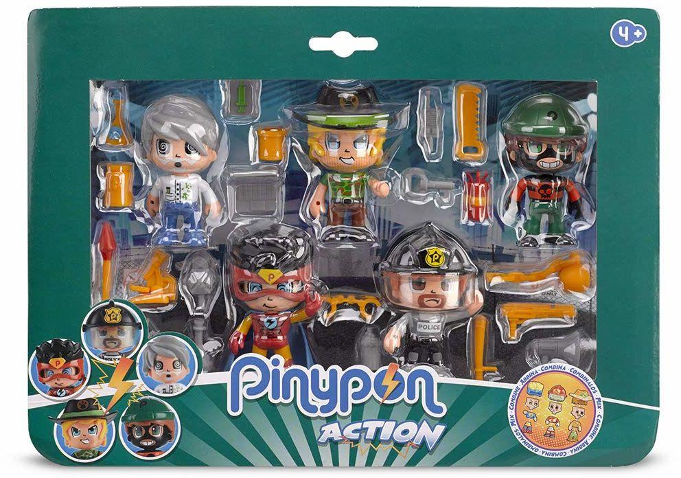 Pinypon Action - Zestaw 5 figurek (Famosa 700014490)