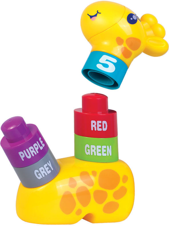 Dumel - Żyrafa kolorowe odliczanie 45100