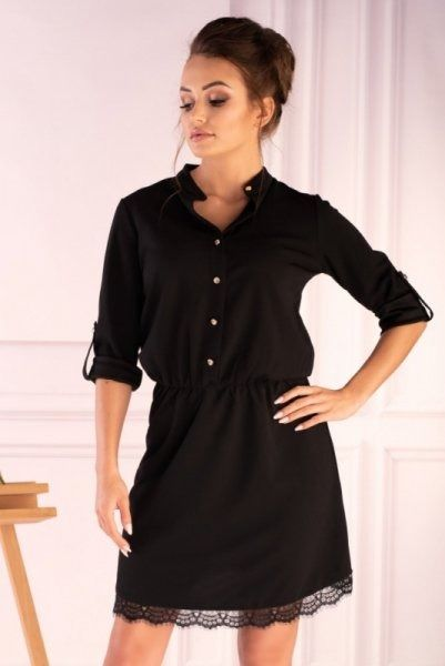 Merribel jentyna black sukienka damska