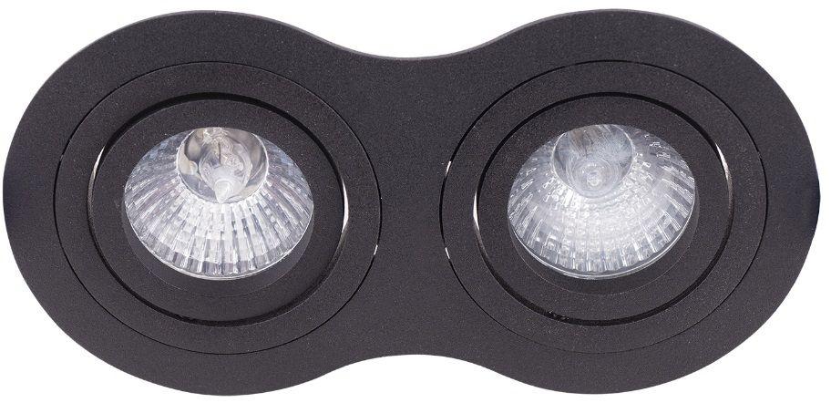 Oczko Stropowe Signal II H0087 MAXlight nowoczesna oprawa podtynkowa w kolorze czarnym