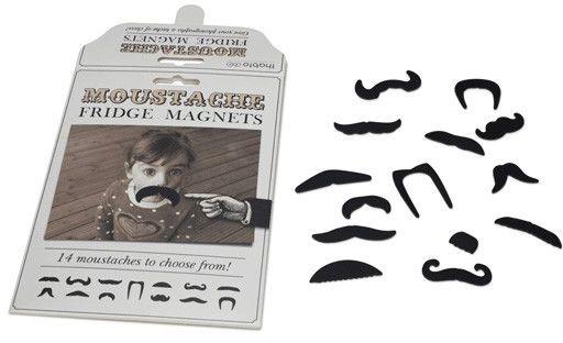 Wąsy  magnesy na lodówkę