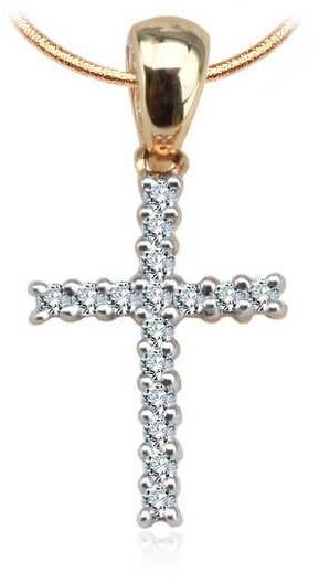 Złoty wisiorek WXD1904 - Diament
