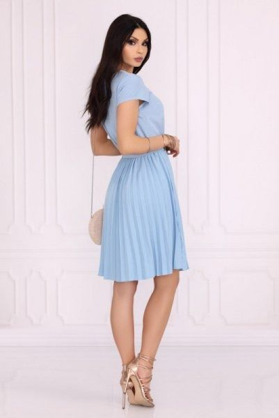 Merribel medesia blue sukienka damska