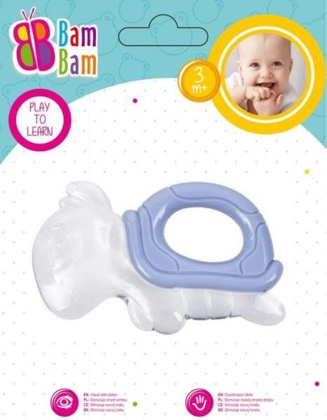 Gryzak Żółw transparentny BAM BAM 430914