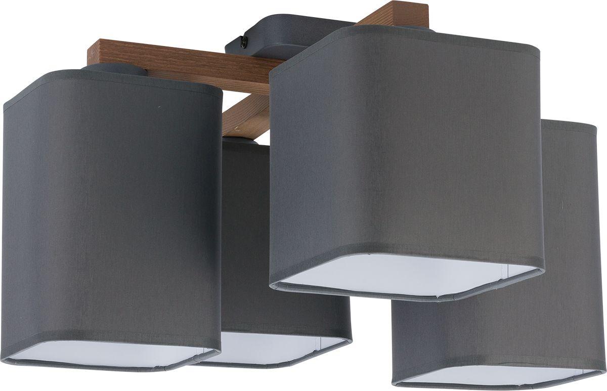 Plafon Tora Graphite 4166 TK Lighting nowoczesna oprawa w kolorze grafitowym