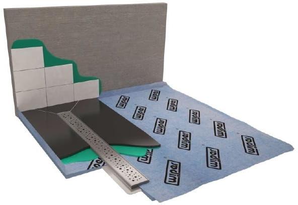 Wiper Showerbase płyta prysznicowa z odpływem liniowym PL 80x80 cm