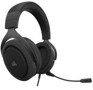 Słuchawki CORSAIR HS50 Carbon Pro Stereo. > DARMOWA DOSTAWA ODBIÓR W 29 MIN DOGODNE RATY
