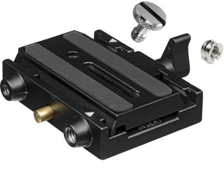 Manfrotto 577 - adapter z płytką 501PL adapter manfrotto z płytką 577