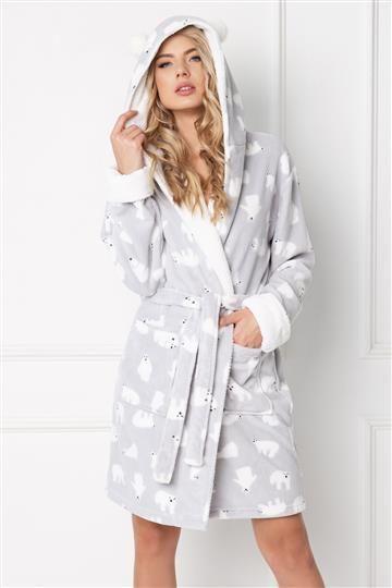 Szlafrok Polar Bear Grey