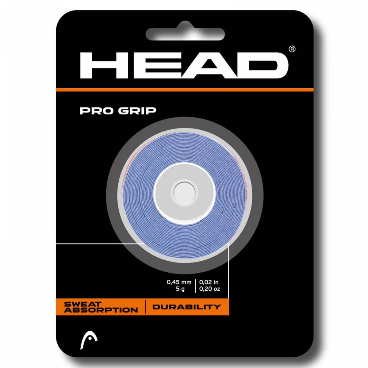 Head Pro Grip (3 szt.) - blue