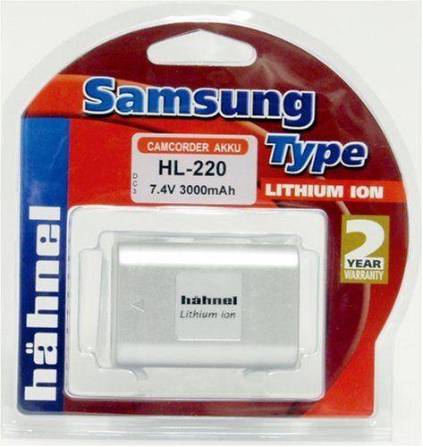 Hähnel HL-220S 7,4V 2800mAh Li-Ion akumulator zastępczy typ Samsung SB-L220 również do Medion MD9021