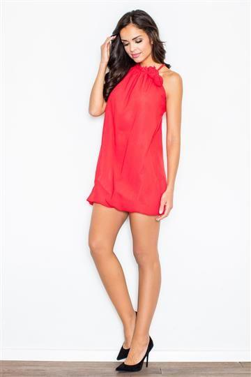 Sukienka Fifi M065 Czerwona