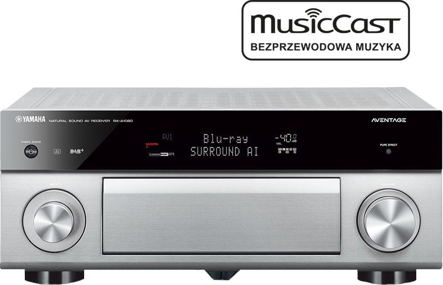 MusicCast RX-A1080 tytan  SALONY FIRMOWE W 12 MIASTACH  25 LAT NA RYNKU  DOSTAWA 0 zł  ODBIÓR OSOBISTY