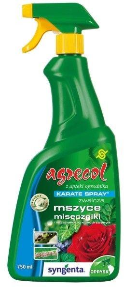 Środek owadobójczy Agrecol Karate Spray 750 ml
