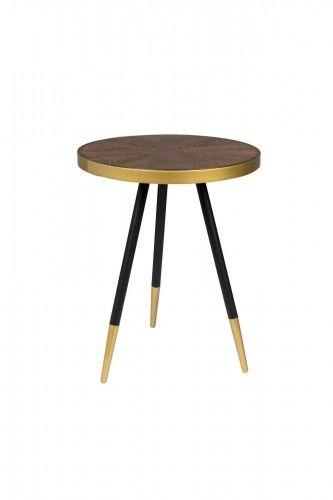Stolik kawowy Nutel S drewniany